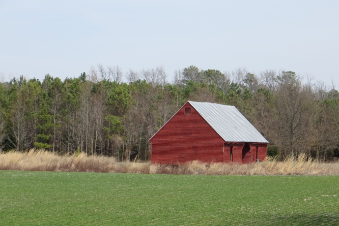 Red Barn at Belle Isle
